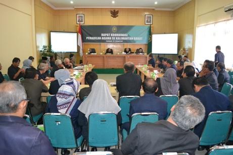 Rapat Koordinasi Pengadilan Agama Se Kalimantan Barat